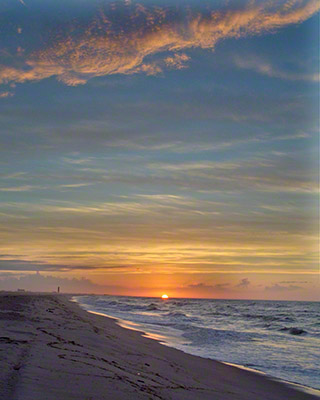 Jones Beach Summer Sunrise, West End