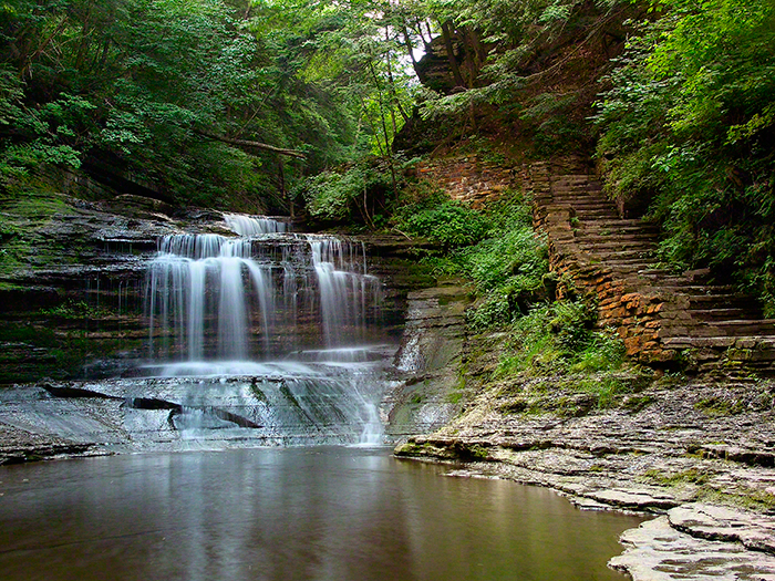 """Summer Dream, Buttermilk Falls"""