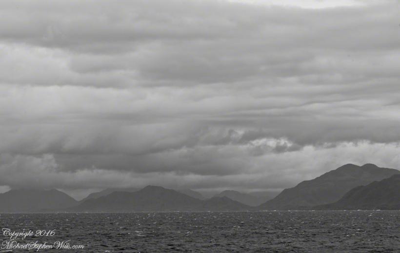 Larenas Peninsula from Gulf of Penas