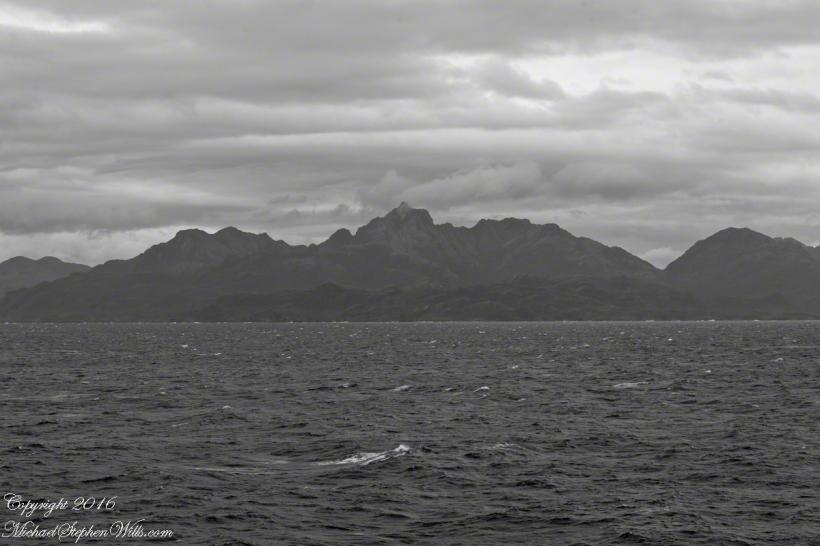 High Ridge of the Larenas Peninsula