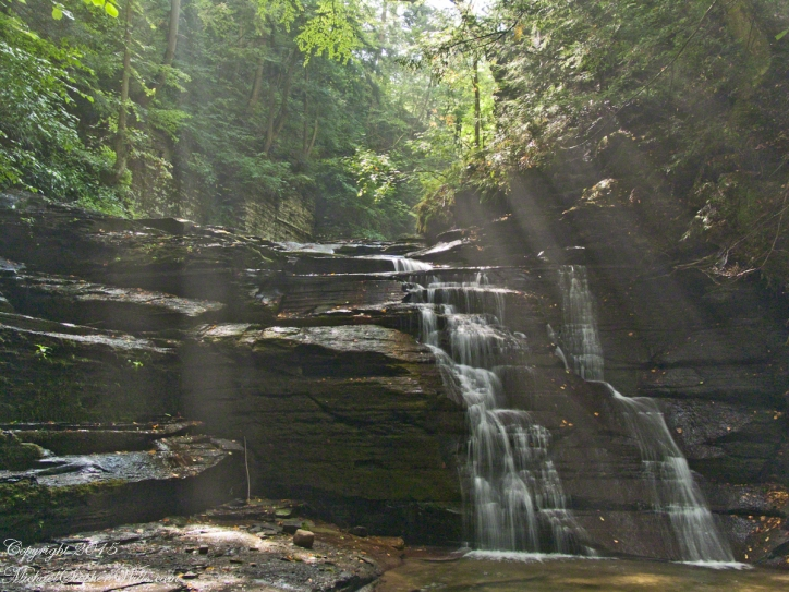 Fillmore Glen Waterfall– CLICK ME!!!!