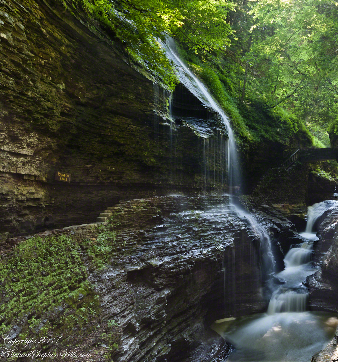 Rainbow Falls of Watkins Glen– CLICK ME!!!!