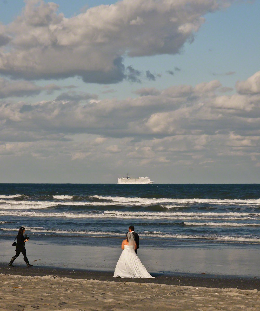 Newlyweds and Photographer