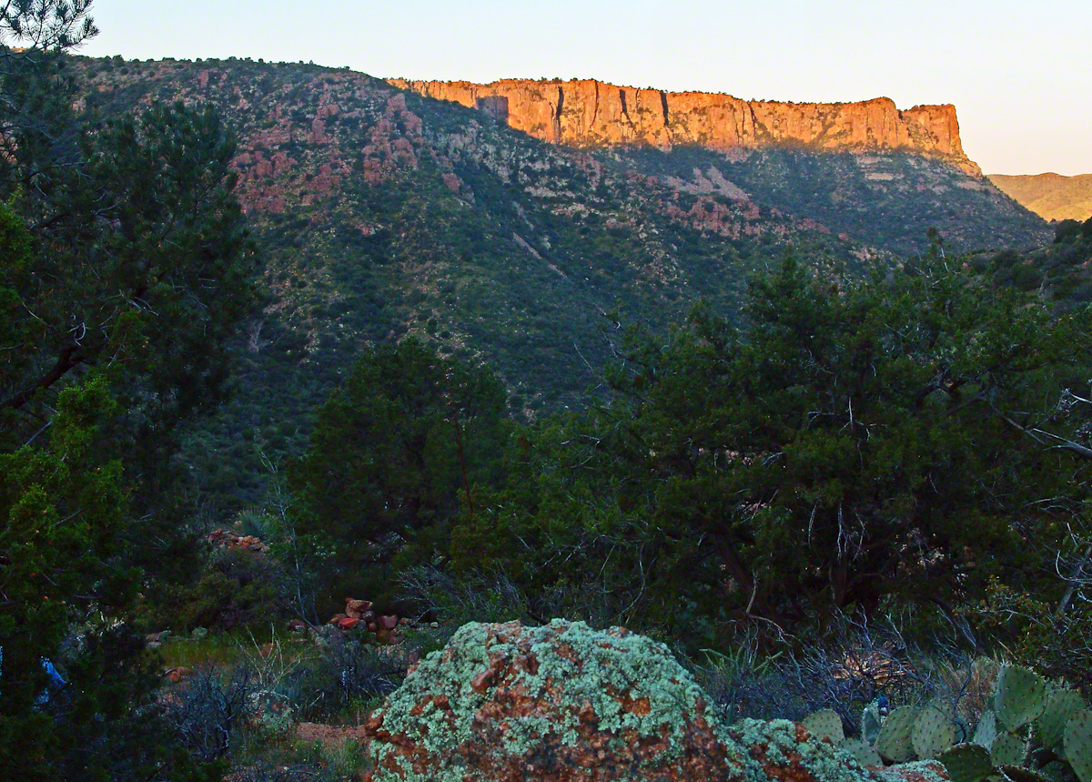 Nameless Canyon in the Dawn