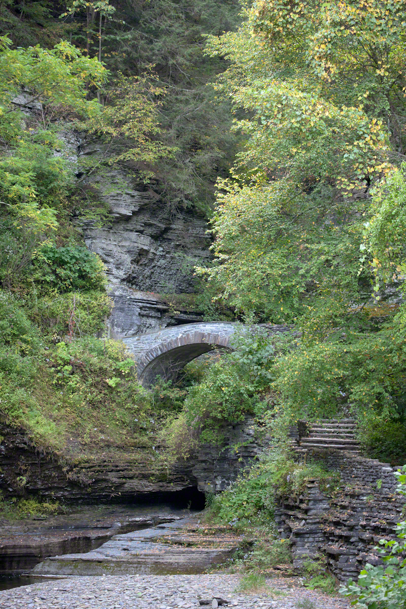 Footbridge and Gorge