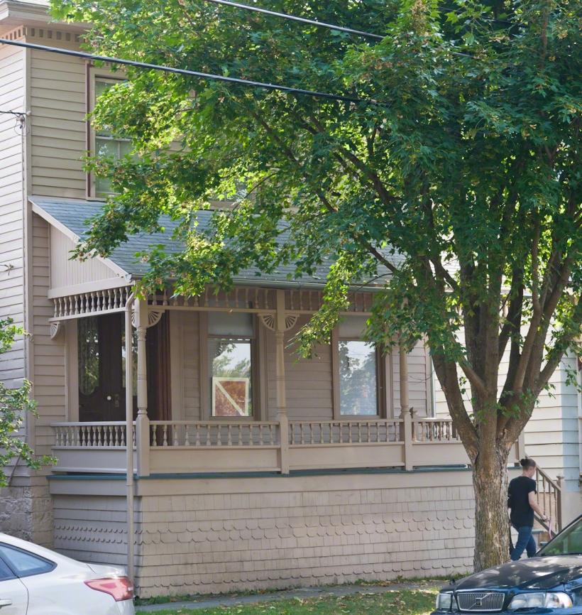 Dennis-Newton House Street Frontage