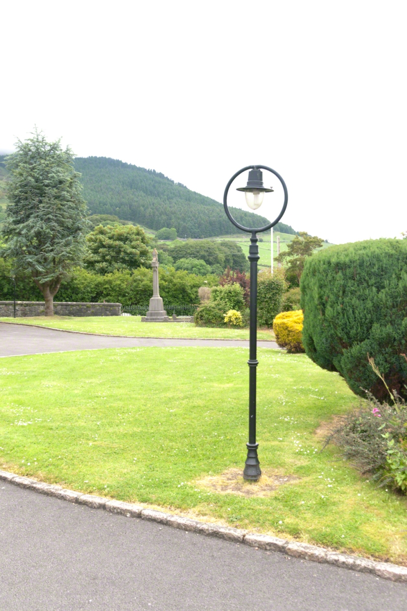 Church of Saint Michael Grounds, Lamp Post