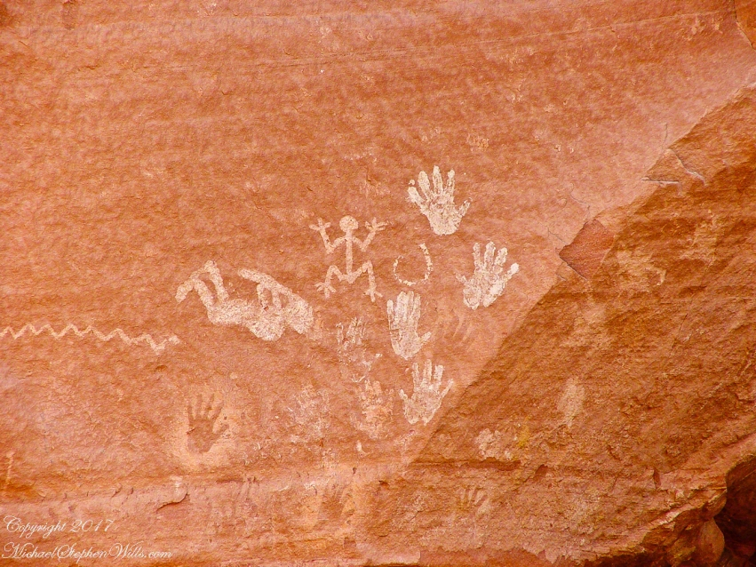 Pictographs Canyon De Chelly