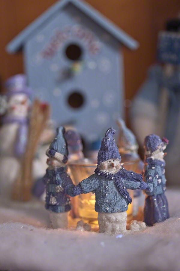 Cosy Christmas Snowmen
