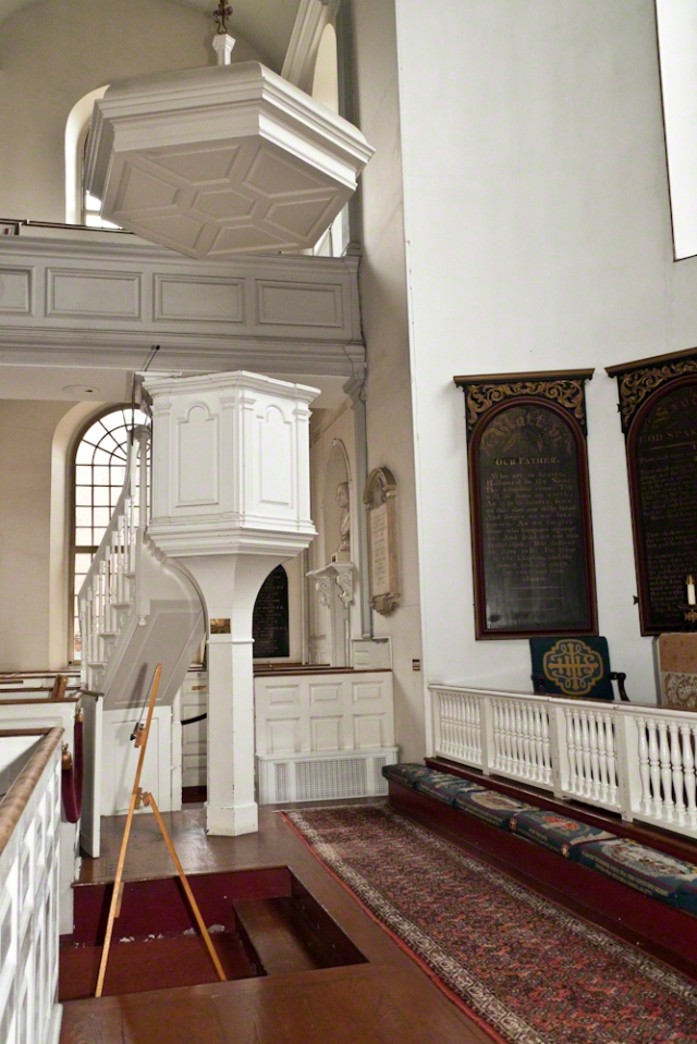Old North Church Pulpit, Boston