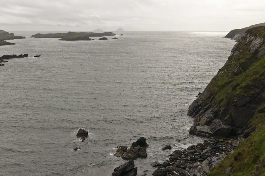 Skelligs from Valentia Island