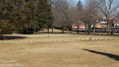 Gettysburg National Military Park includes the graves of more than 6,000 United States Servicemen, including 3,580 Union soldiers killed in the Civil War. Almost half the Union graves are unknown soldiers.