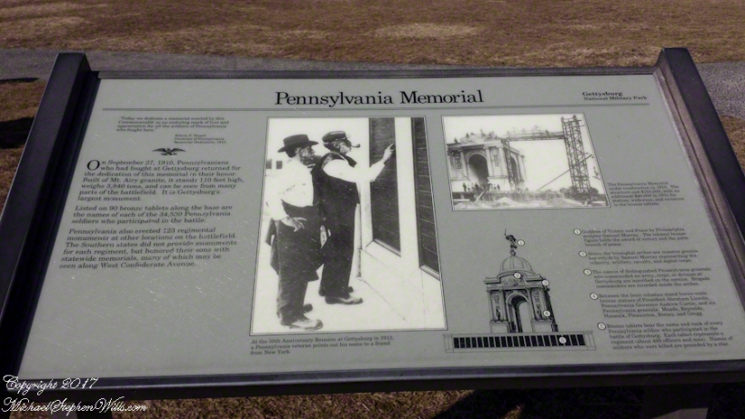 Pennsylvania Memorial Fact Display