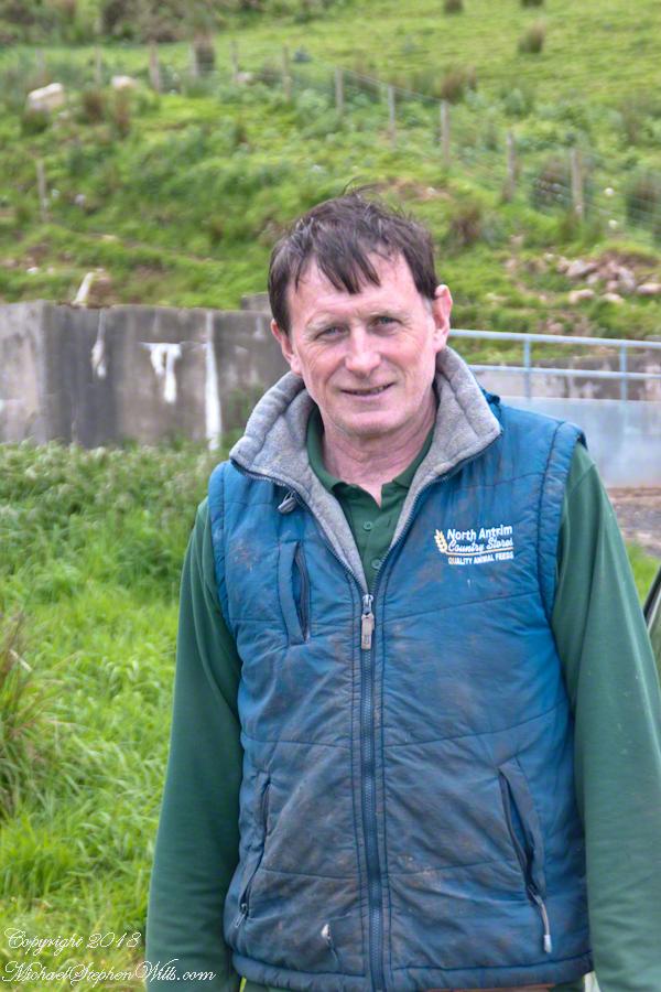 Loughan Bay Farmer – CLICK ME for my Getty Portfolio.