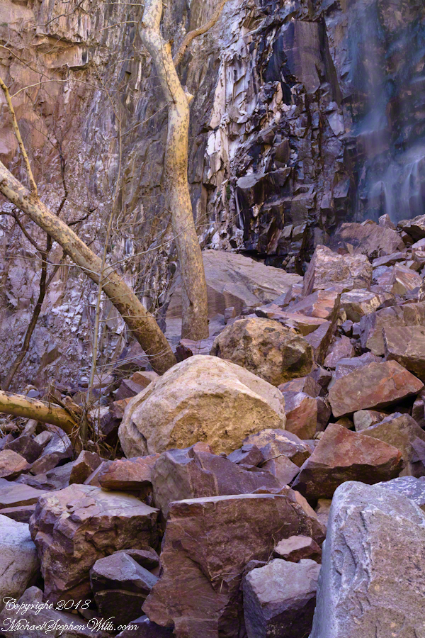 Reavis Falls and Talus – CLICK ME for more abstract photography.