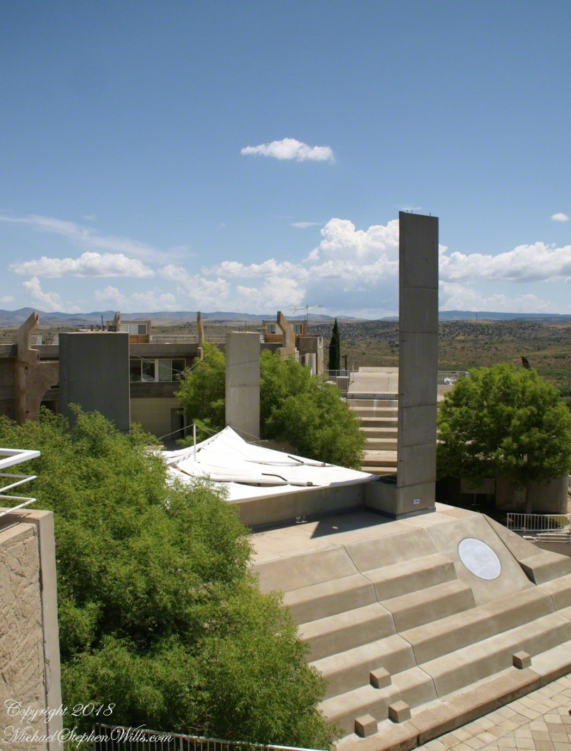 View Across Arcosanti – CLICK ME for more Arizona Photography.