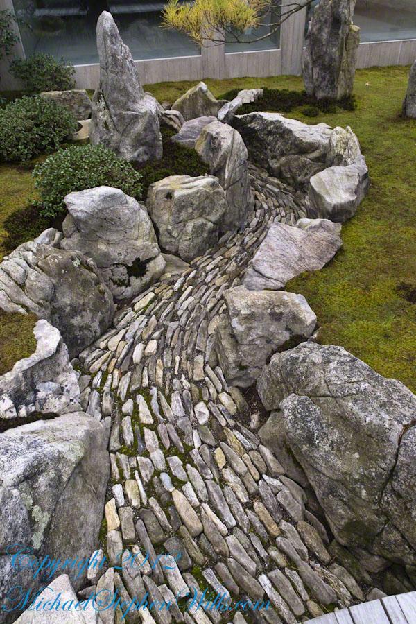 Stone Torrent in Karesansui-style Garden