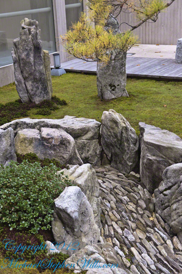 Stone Torrent in Karesansui-style Garden
