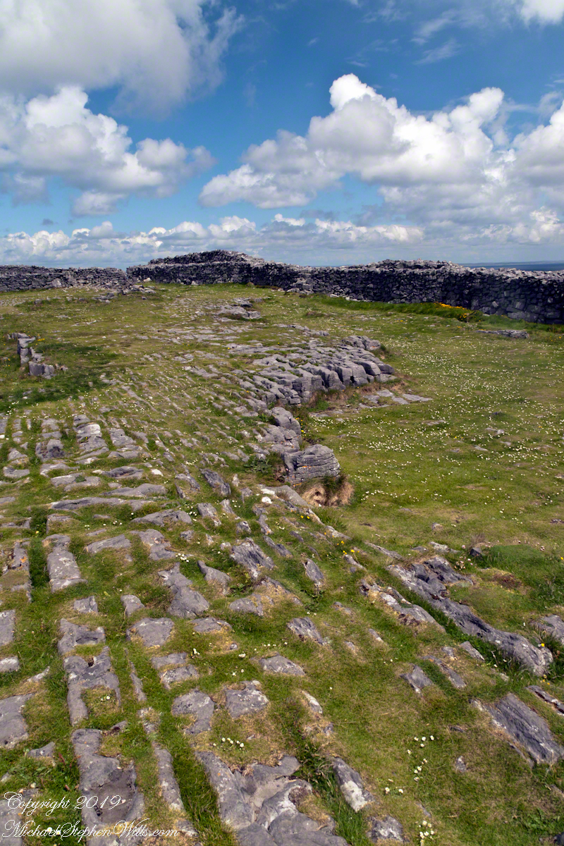 Karst Landscape with Interior Walls of Dun Aonghasa
