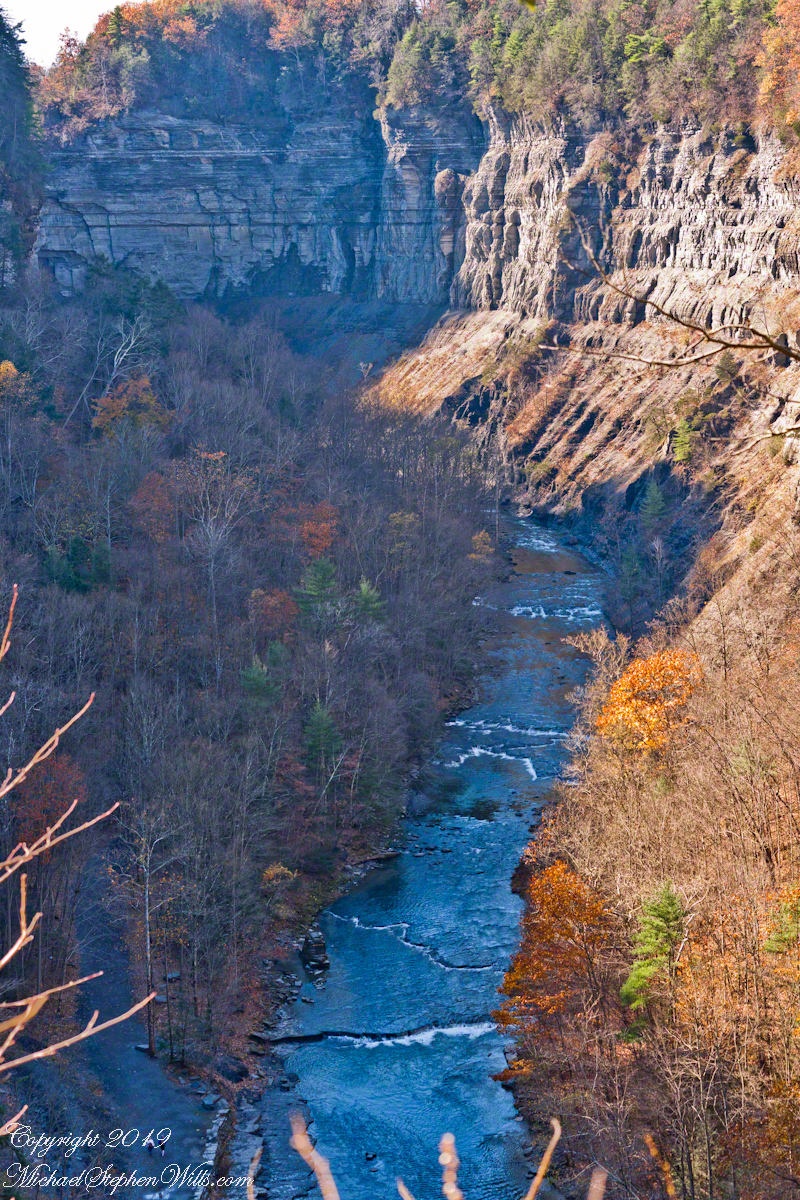 Taughannock Gorge, November
