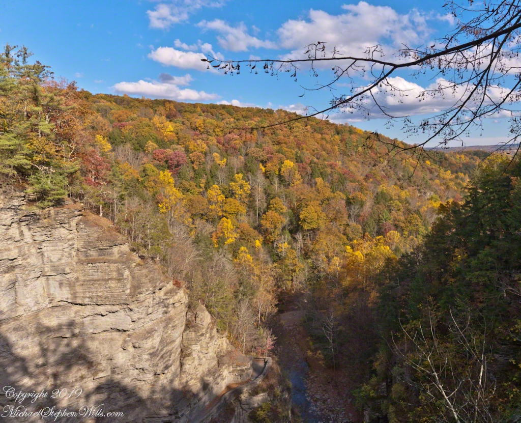 Luficer Falls Overlook, northeast